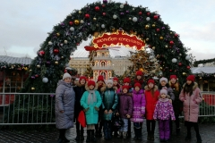 Ансамбль Рябинушка на Красной площади